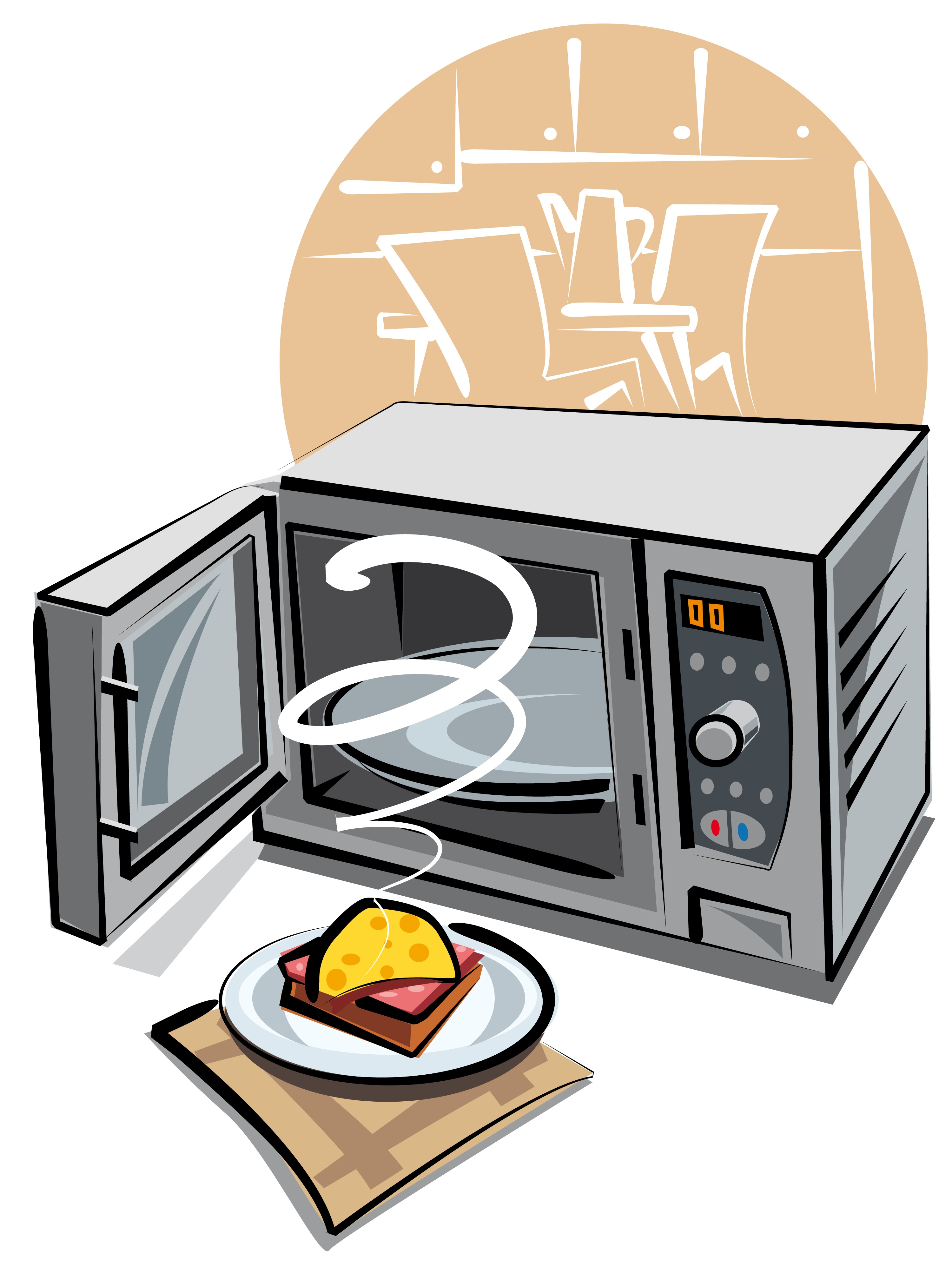 Cartoon Microwave Oven ~ Microwaves a hot potato laura bond health coach