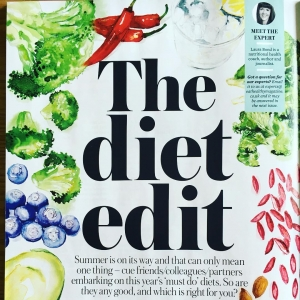My latest feature for @eat_healthy_mag on the stands now. Lots of pros about the Paleo approach and @iquitsugar for long term health. While strict diets don't tend to work, if they segue into a sustainable way of eating that's still delicious they can be transformative. #eathealthy #paleo #iquitsugar #diet #realfood #homemade