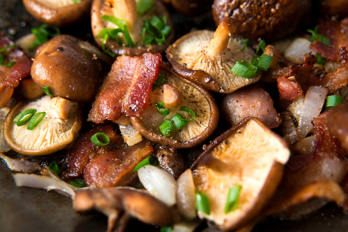 mushrooms yum